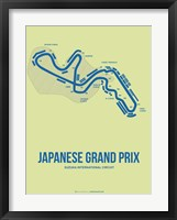 Framed Japanese Grand Prix 2