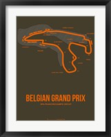 Framed Belgian Grand Prix 1