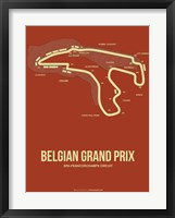 Framed Belgian Grand Prix 2