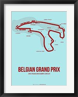 Framed Belgian Grand Prix 3