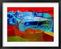 Framed BMW Laguna Seca