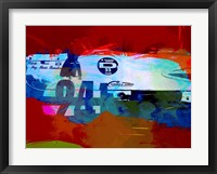 Framed Laguna Seca Racing Cars 1