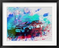 Framed BMW 3.0 CSL