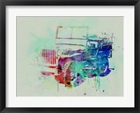 Framed Jeep Willis