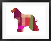 Framed Afghan Hound 2