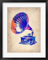 Framed Gramophone 2