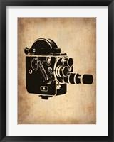 Framed Vintage Camera 3
