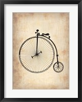 Framed Vintage Bicycle