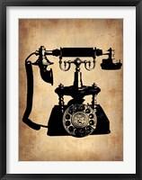 Framed Vintage Phone 3