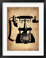 Framed Vintage Phone 3