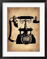 Vintage Phone 3 Framed Print