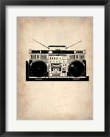 Framed Vintage Radio 1