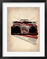 Framed Vintage Radio 2