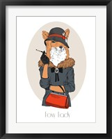 Framed Foxy Lady