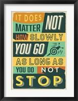 Framed Do Not Stop