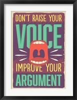 Framed Improve Your Argument