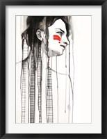 Framed Red Stripes