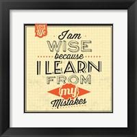 Framed I'm Wise