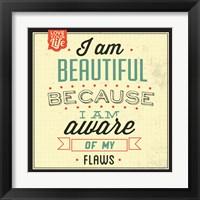 Framed I'm Beautiful
