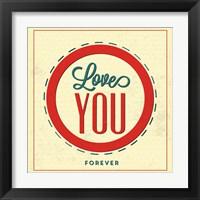 Framed Love You Forever