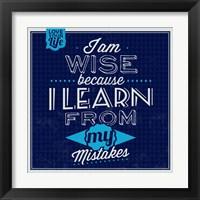 Framed I'm Wise 1