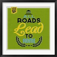 Framed Roads To Rome 1