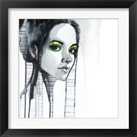 Framed Green Eyes