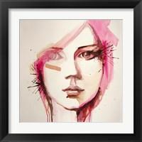 Framed Pink Lana