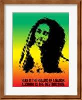 Framed Bob Marley