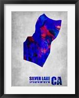 Framed Silver Lake California
