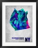 Framed Williamsburg Brooklyn New York