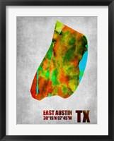 Framed East Austin Texas