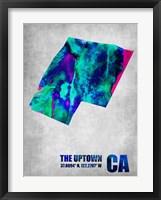 Framed Uptown California