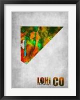 Framed Lohi Colorado