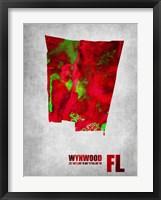 Framed Wynwood Florida