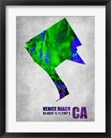 Framed Venice Beach California