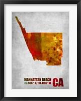 Framed Manhattan Beach California
