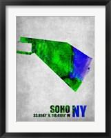 Framed Soho New York