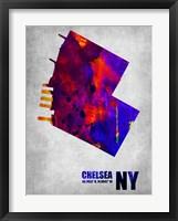 Framed Chelsea New York
