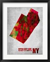 Framed Upper East Side New York