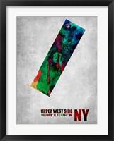 Framed Upper West Side New York