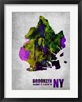 Framed Brooklyn New York