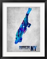 Framed Manhattan New York