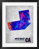Framed Hayes Valley California