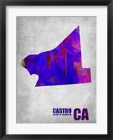 Framed Castro California