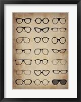 Framed Vintage Glasses