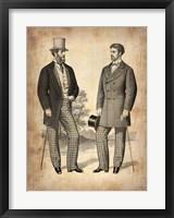 Framed Vintage Victorian Man 1