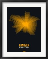 Framed Hanover Radiant Map 1