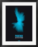 Framed Phoenix Radiant Map 3