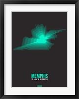 Framed Memphis Radiant Map 2